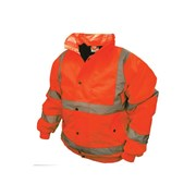 Hi-Vis Bomber Jackets Orange