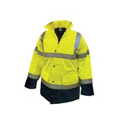 Hi-Vis Motorway Jackets Yellow