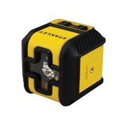 "Stanley Tools Cubixâ""¢ Cross Line Laser Level (Red Beam)"
