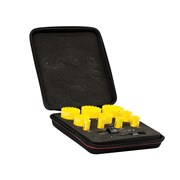 KDC10021 Deep Cut Bi Metal Deluxe Electricians Holesaw Kit 12 Piece
