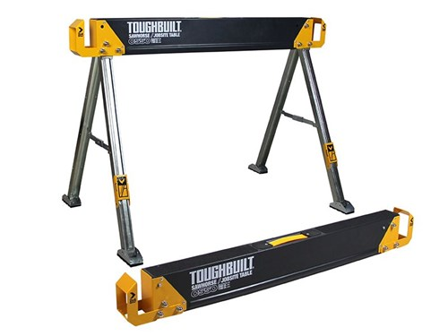 ToughBuilt C550-2 Sawhorse/Jobsite Table Twin Pack