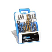 Combination Drill Bit Set, 19 Piece