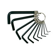 Teng Hex Key Set of 10 on Ring