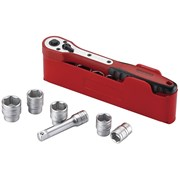 Teng M1413N1 Basic Socket Set of 13 1/4in Drive