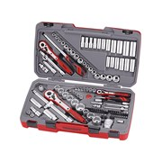 Teng TM111 Tool Set of 111 Metric & AF 1/4, 3/8, 1/2in Drive