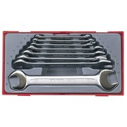 Teng TT6208 8 Piece Metric Open End Spanner Set