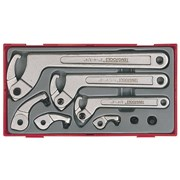 Teng TTHP08 8 Piece Hook & Pin Wrench Set