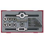 Teng TTTD17 17 Piece Rethreading Tap & Die Set