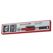 Teng TTX3892 3/8in Drive Torque Wrench Set, 22 Piece