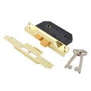 UNION 2 Lever Rebated Sashlock - 2242