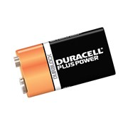 Duracell 9V Batteries Twin Pack