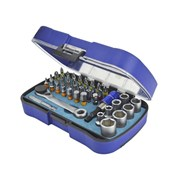 XMS Faithfull Screwdriver Bit & Socket Set, 42 Piece