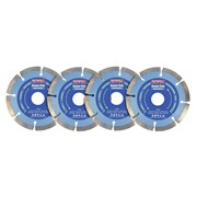 Faithfull Contract Diamond Blade Set, 4 Piece