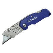 Faithfull Folding Lock Back Knife