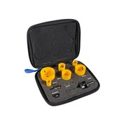 XMS Faithfull Plumber's Holesaw Kit, 9 Piece