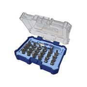 XMS Faithfull Quick-Change Screwdriver Bit Set, 25 Piece