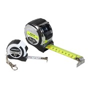 "Komelon PowerBladeâ""¢ Tape 5m/16ft & Key Ring Tape 2m"