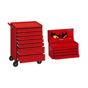 Teng Top Box and Rolling Cabinet Kit, 704 Piece