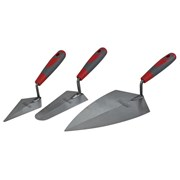 XMS Faithfull Soft Grip Trowel Set, 3 Piece