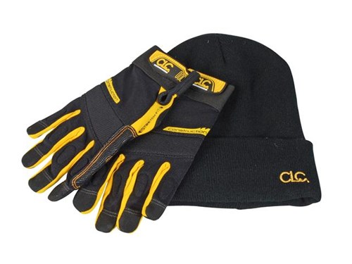 "XMS CLC Flex-Gripâ""¢ Work Gloves and Beanie"