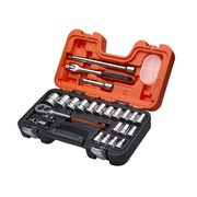 Bahco S240 1/2in Socket Set, 24 Piece