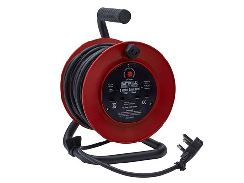 XMS Faithfull Power Plus Cable Reel 20m 13A