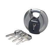"Master Lock M40 Excellâ""¢ Stainless Steel Discus Padlock 70mm"