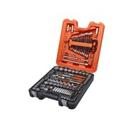 XMS Bahco S138 1/4in 3/8in & 1/2in Socket Set, 138 Piece