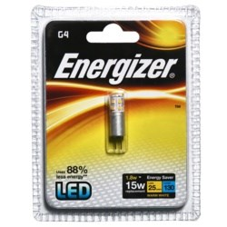 Energizer Lighting High Tech LED G4 Warm White 130lm