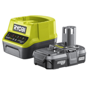 Ryobi RC18120-113 18V One Lithium 1.3AH Battery & Charger 18v