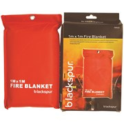 Fire Blanket 1M x 1M Kitchen Home Caravan
