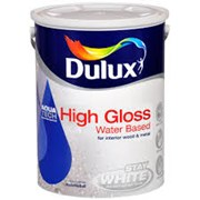 Dulux Stay White With Aquatech Gloss paint