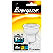 Energizer GU10 Warm White Blister Pack 5w - 50w
