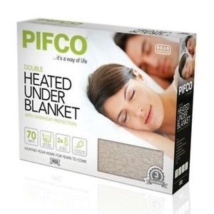 Pifco PE158 Double Heated Electric Under Blanket