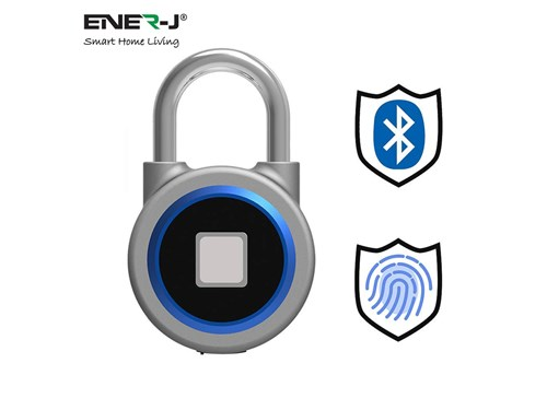 Ener-J Smart Living Smart Bluetooth Fingerprint Padlock