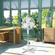 """SupaCool Oscillating Stand Fan 16"""""""