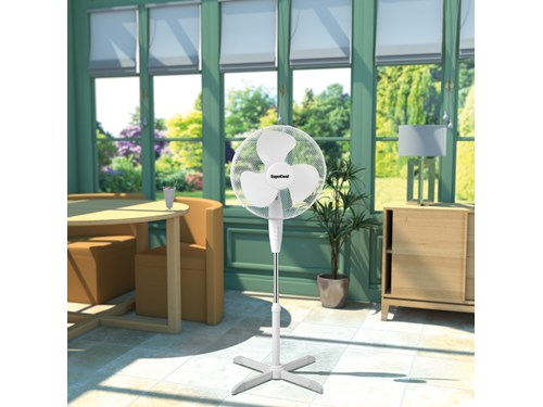 SupaCool Oscillating Stand Fan 16""