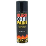 Percy Doughty Gas Fire Coal Spray Paint 300ml