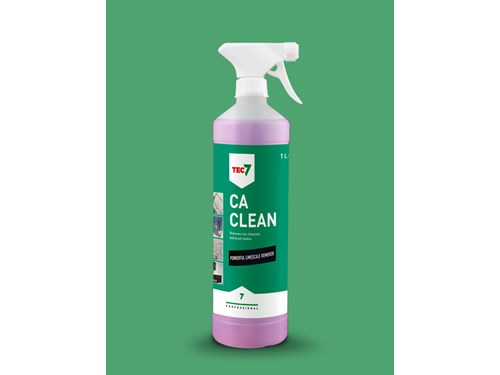 TEC7 CA CLEAN – REMOVES LIMESCALE, RUST & RESIDUES