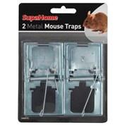 SupaHome 2 Metal Mouse Traps